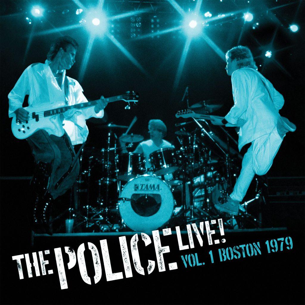 The Police Live Vol 1 Artwork